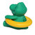 Cute Baby Thermometer Bath Toys Gift LCD Display Crocodile Shower Temperature Measure Tool