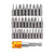 Drillpro 31Pcs Screwdriver Bit Set Torx Hex Slotted Pozi Phillips Screwdriver Bits with Quick Release Hex Chuck Extension Adapter