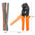 773pcs Wire Crimping Tool Terminal Pins Connectors Housing Cable Plier Set with 1.5M Wire Cable Crimper Plier