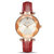 MEGIR 4209 Fashion Cutting Dial Women Watch Light Luxury Waterproof Quartz Watch