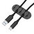 Bakeey 5-Channel TPR Sticky Earphone USB Cable Cord Winder Wrap Desktop Cable Organizer Wire Management Holder