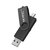 USB Flash Drive 32GB 64GB 128GB Metal Pen Drive Pendrive OTG External Storage Portable Micro USB Memory Stick Flash Drive for Smart Phone