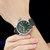 SINOBI 9813 Fashion Big Number Luminous Display Men Business Style Quartz Watch