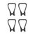 Eachine E520 E520S RC Drone Quadcopter Spare Parts Propeller Props Guard Protection Cover