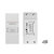 MoesHouse DIY WiFi Smart Light Switch Universal Breaker Timer Smart Life APP Wireless Remote Control Works With Alexa Google Home