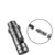 Warsun 92mm Aluminum Alloy Multifunctional Folding Blade EDC Mini Blade Window Breaker Whistle Hunting Emergency Outdoor Survival Tools