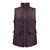 Women Solid Turn-down Collar Thick Vest Jacket