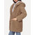 Women Solid Color Fleece Long Sleeve Hooded Coats with Pockets
