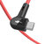 Blitzwolf® BW-AC2 2.4A 90°Right Angle USB A to Micro Data Cable 0.9m 1.8m for Gaming Mobile Phone Samsung Xiaomi