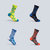 Breathable Compression Socks Below Knee Anti-friction Stockings for Cycling Sports