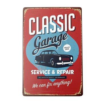 Classic Garage Tin Sign Vintage Metal Plaque Poster Bar Pub Home Wall Decor
