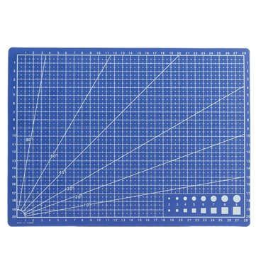 A4 Cutting Mat Model Design Engraving Board Plate Single Sided Scale