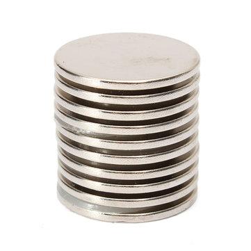 10PCS 25x2mm N35 Strong Round Rare Earth Magneti al neodimio