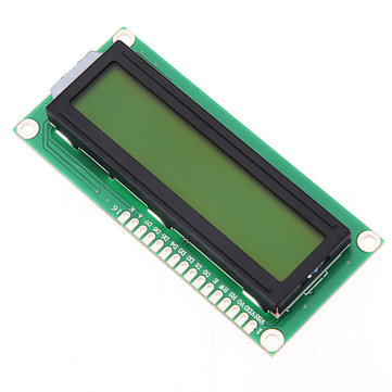 5Pcs Geekcreit® 1602 Character LCD Display Module Yellow Backlight For Arduino