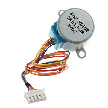 10Pcs 4 Phase 5-Wire 5V DC 28BYJ-48 Stepper Motor For Arduino