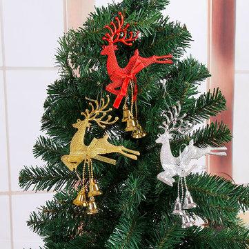 क्रिसमस ट्री गहने रेनडियर हिरण एल्क क्रिसमस Baubles होम पार्टी सजावट उपहार लटका