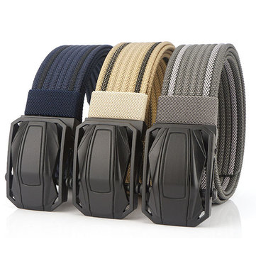 120cm AWMN BO02 Punch Free Quick Release Buckle Tactical Belt Unisex Nylon  Belt