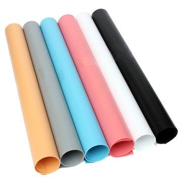 68x130cm 6 color Lavable PVC Studio Photography Telón de fondo Photo Lighting Background
