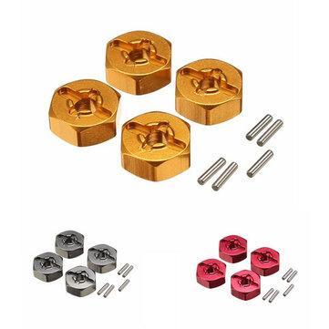 WLtoys Upgrade Metal Hexagon Adapter 7mm To 12mm A959-B A979-B A969 A969 A969 K929 RC Car Parts