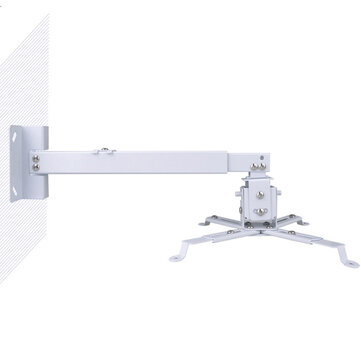 Buy Projector Ceiling Mount Hanger Universal Lifting Extending Wall Hanging Adjustable Rotatable Head with 5 on Gipsybee.com