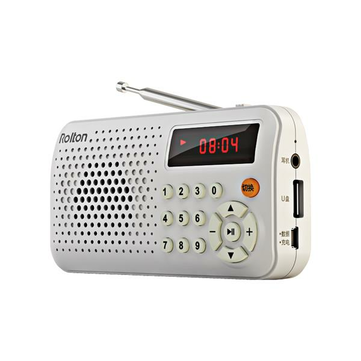 Rolton T30 Portable Mini FM Radio Speaker Music Player TF Card USB With LED Display