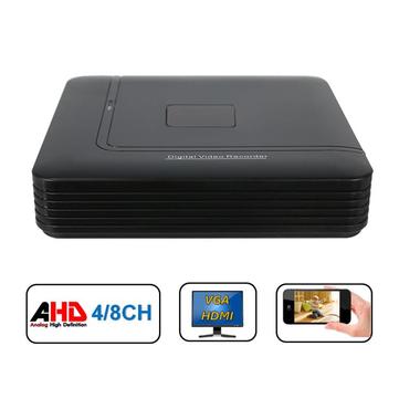 Hiseeu 4 8 Channel 720P 960P 1080P DVR AHD HVR NVR System P2P H.264 Security Home Camera Video Recorder