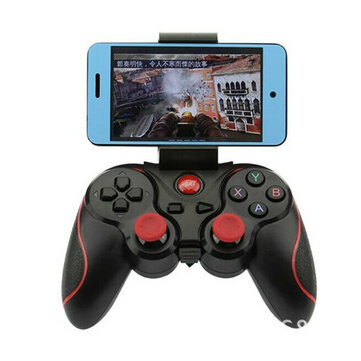 F300 Smartphone Game Controller Trådlös Bluetooth Gamepad Joystick för Android Tablet PC TV BOX