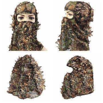 狩猟キャンプハイキングサイクリング戦術迷彩軍用ファンの帽子襟ハットフェイス馬のセット