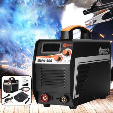 MMA-400 IGBT 20-400A 220V डिजिटल स्टिक वेल्डर डीसी इन्वर्टर एआरसी वेल्डिंग मशीन क्लैंप + मास्क