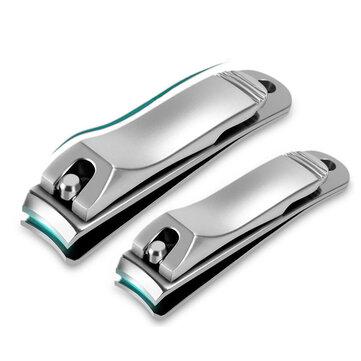 Dụng cụ làm móng tay bằng thép không gỉ YFM® Dụng cụ cắt móng tay Anti Splash
