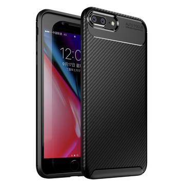 Bakeey Protective Case For iPhone 7 Plus/8 Plus Slim Carbon Fiber Fingerprint Resistant Soft TPU Back Cover