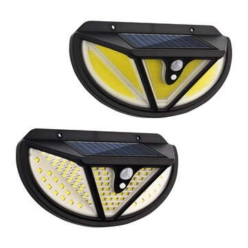 ARILUX 118SMD/ 117COB LED Solar Light Human Body Induction