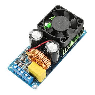 IRS2092S Amplificatore digitale mono canale 500W Classe D HIFI Scheda amplificatore di potenza con FAN