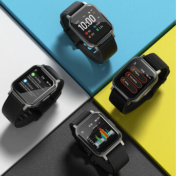 Haylou LS02 1.4inch Ture Color Full Touch Large Screen 320x320ppi Resolution 12 Sports Modes bluetooth 5.0 Smart Watch Global Version