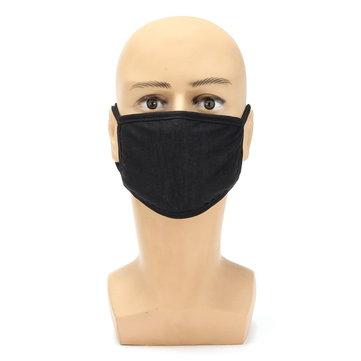 Motocyklová zimní tlustá bavlna Dust odolná maska na obličej