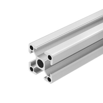 Machifit Silver 100-1300mm 2020 T-slot Aluminum Extrusions Aluminum Profiles Frame for CNC Laser Engraving Machine
