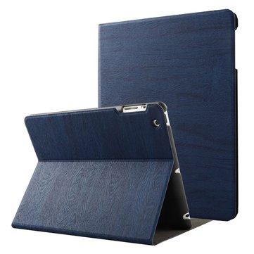Trekornsmønster Smart Sleep Kickstand Case For iPad 2/3/4