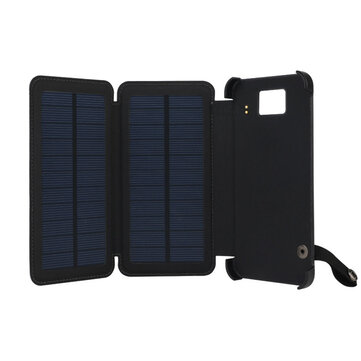 huge selection of 9e90a e020d IPRee® 5.5inch 8000mAh Solar Panel Charger Kit Waterproof USB Power Bank  With LED Light For Any Phone Laptop