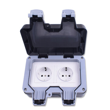 How can I buy IP66 Weatherproof Waterproof Outdoor Wall Power Socket 16A Double EU Standard Electrical Outlet Grounded with Bitcoin