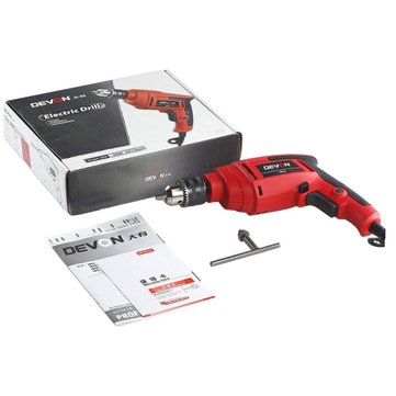 DEVON® 550W 220V 13mm Multifunctional Electric Screwdriver Variable Speed Reversible Hand Drill