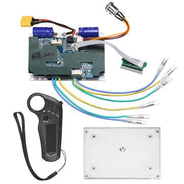 24 / 36V Dual Motors System Driver Noninductive Longboard Skateboard Controller Fjärr ESC-ersättare