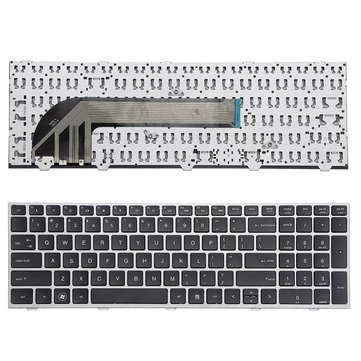 Buy Laptop Replace Keyboard For HP ProBook 4540 4540S 4545 4545S Series Notebook With Silver Frame    with Litecoins with Free Shipping on Gipsybee.com
