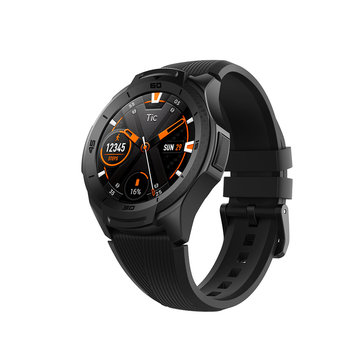 TicWatch S2 1.39inch AMOLED Full Touch 512MB+4GB 5ATM Waterproof 24h Heart Rate Monitor US Military Standard 810G Recognition Outdoor Smart Watch