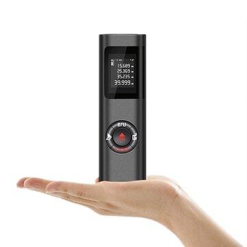 DANIU handhållen elektronisk 40M laseravståndsmätare Mini Laser Avståndsmätare Lasertape m / in / ft IP54 Vattentät LCD-skärm med bakgrundsbelysning