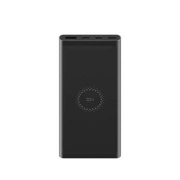 Buy ZMI 18W 10000mAh Lighting USB PD Fast Charging Wireless Charger Power Bank For iPhone XS 11Pro Huawei P30 Pro P40 5G Xiaomi Mi10 5G  with 0 on Gipsybee.com