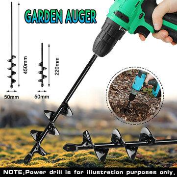5x22 / 5x45cm Công cụ khai thác vườn nhỏ Trái đất Mũi khoan Mũi khoan Lỗ đào Trái đất Trồng khoan khoan cho khoan điện