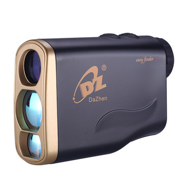 À prova d'água 1000m Golf Laser Range Finder Mini Portable Hunting Binocular Speed ​​Measurement 8 Modos
