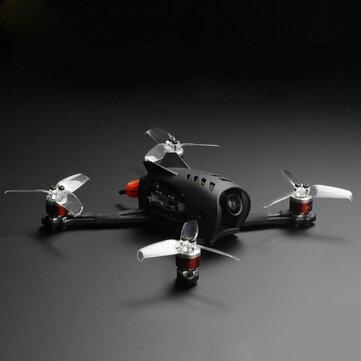 STP FLIGGY 147mm Wheelbase 2.5Inch Rush F7 Mini Flight Controller 30A BLHeli_32 4 In 1 ESC A16 4500KV Motor FPV RC DronePNP w/Tank Mini 25-800 VTX Caddx Baby Turtle Camera