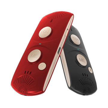 JWD HQ-69 27 Languages 6h Continuous bluetooth 5.0 Portable Intelligent Real-time Mutual Voice Translator(zh/en/ja/ca/fr/ko/ru/de/es/pt/th/it/ar/pl/da/fi/nl/cs/ro/no/sv/sk/tr/el/hu)