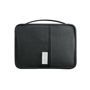 Buy Travel Organiser Passport Document Holder RFID Cards Tickets Wallet Pouch Storage Bag with Litecoins with Free Shipping on Gipsybee.com